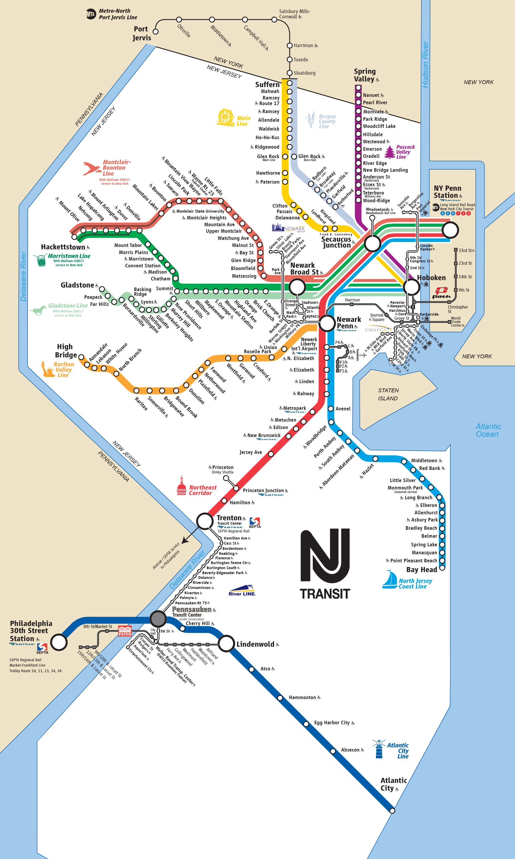 New-Jersey-Transit-Map
