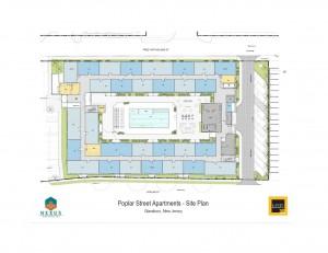 Poplar Street Site Plan